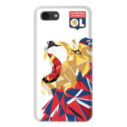 Coque pour iphone 7  / 8 / SE (2020) License Olympique Lyonnais OL - lion color