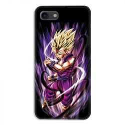 Coque pour iphone 7  / 8 / SE (2020) Manga Dragon Ball Sangohan violet