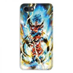 Coque pour iphone 7  / 8 / SE (2020) Manga Dragon Ball Sangoku Blanc