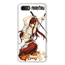 Coque pour iphone 7  / 8 / SE (2020) Manga Fairy Tail Erza