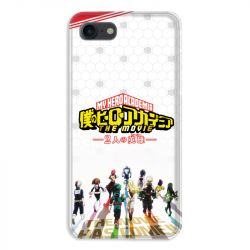 Coque pour iphone 7  / 8 / SE (2020) Manga My hero academia blanc