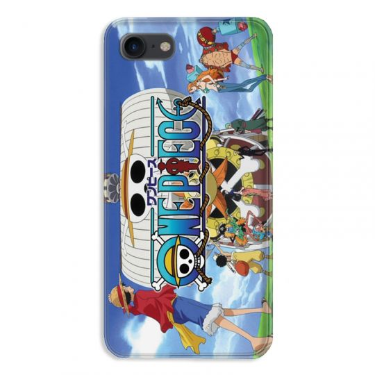 coque pour iphone 7 8 manga one piece sunny