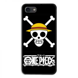 Coque pour iphone 7  / 8 / SE (2020) Manga One Piece tete de mort