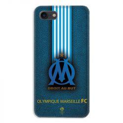 Coque pour iphone 7  / 8 / SE (2020) Olympique Marseille OM Bande