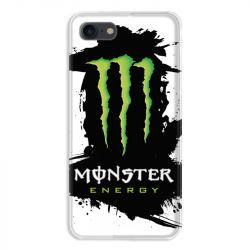 Coque pour iphone 7  / 8 / SE (2020) Monster Energy tache
