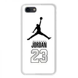 Coque pour iphone 7  / 8 / SE (2020) Jordan 23 Blanc