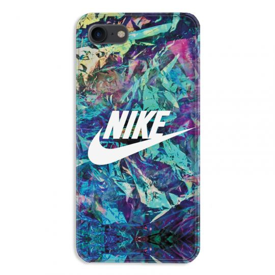coque pour iphone 7 8 nike turquoise