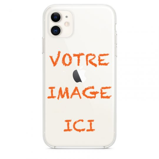 Coque transparente Iphone 11 (6.1) personnalisee