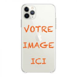 Coque transparente Iphone 11 Pro Max (6,5) personnalisee