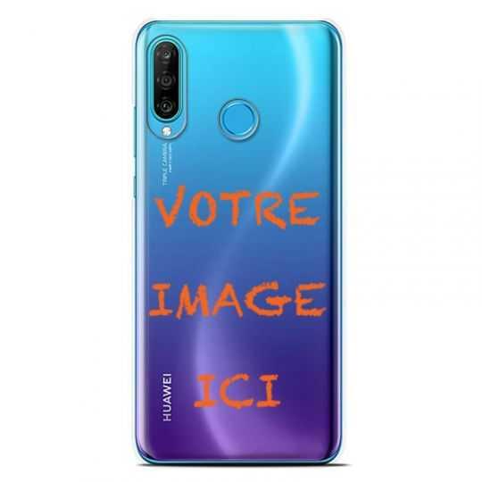 Coque transparente Huawei P30 Lite personnalisee