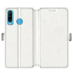 Housse cuir portefeuille Huawei P30 Lite personnalisee