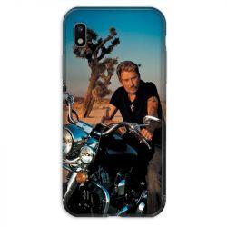 Coque pour Samsung Galaxy A10 Johnny Hallyday Moto