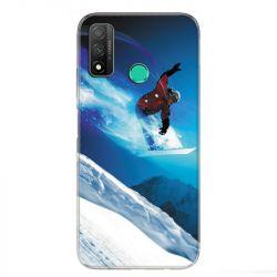 Coque pour Huawei P Smart (2020) Snowboard saut