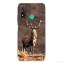Coque pour Huawei P Smart (2020) chasse chevreuil Blanc