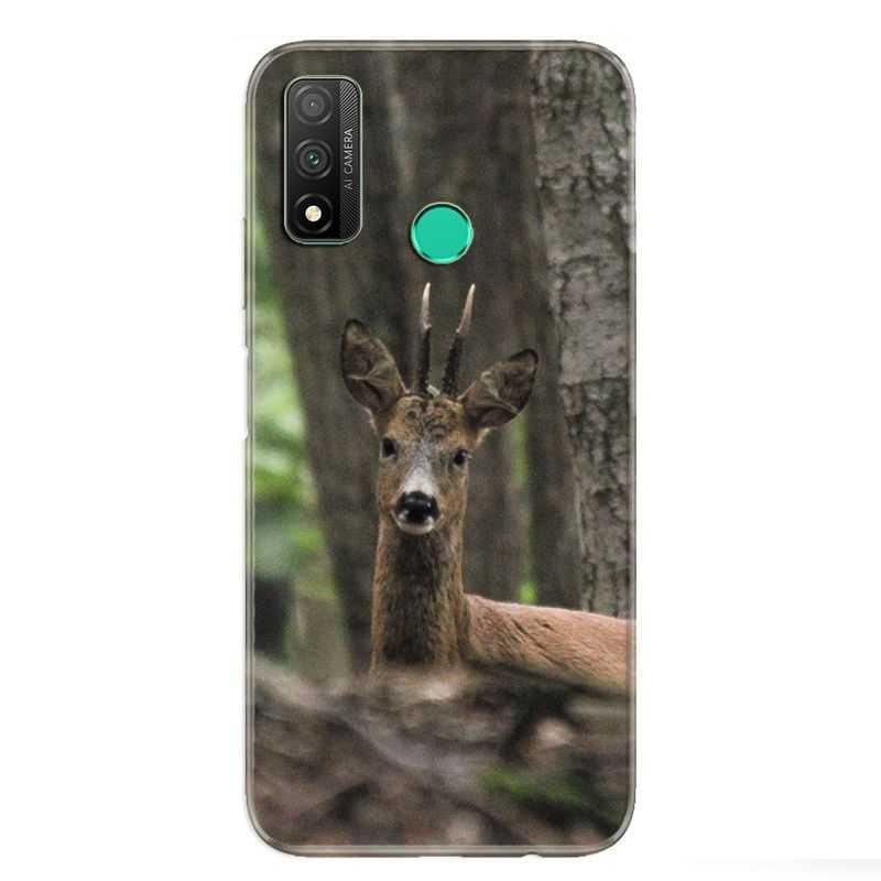 Coque pour Huawei P Smart (2020) chasse chevreuil Bois