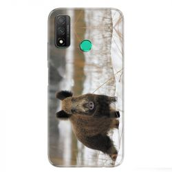 Coque pour Huawei P Smart (2020) chasse sanglier Neige