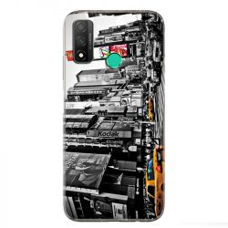 Coque pour Huawei P Smart (2020) Amerique USA New York Taxi