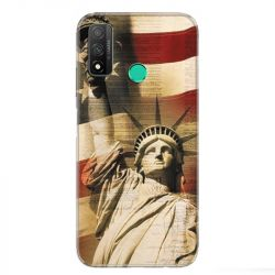 Coque pour Huawei P Smart (2020) Amerique USA Statue liberté