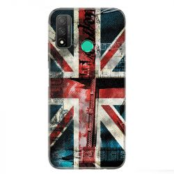 Coque pour Huawei P Smart (2020) Angleterre UK Jean's