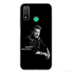 Coque pour Huawei P Smart (2020) Johnny Hallyday Noir