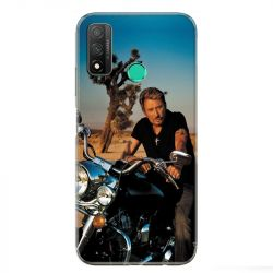 Coque pour Huawei P Smart (2020) Johnny Hallyday Moto