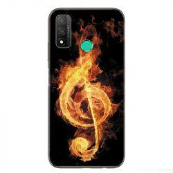 Coque pour Huawei P Smart (2020) Musique clé sol feu N