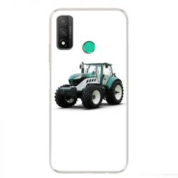 Coque pour Huawei P Smart (2020) Agriculture Tracteur Blanc