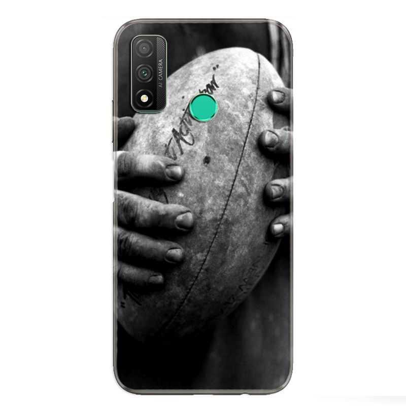 Coque pour Huawei P Smart (2020) Rugby ballon vintage