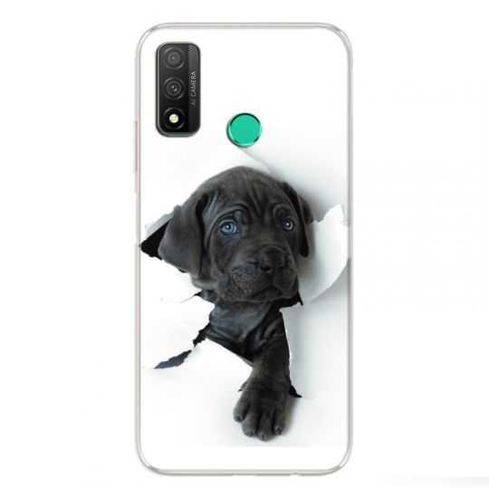 Coque Pour Huawei P Smart (2020) Chien noir