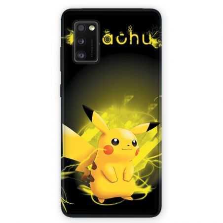 Coque pour Samsung Galaxy A41 Pokemon Pikachu eclair