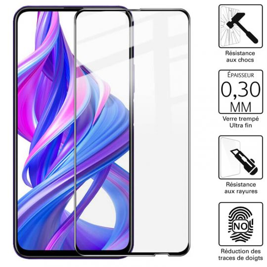 Vitre protection / Verre trempé 3D pour Huawei Honor 9X