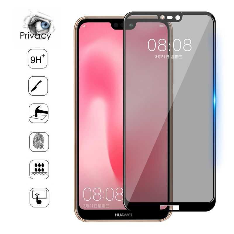 Verre trempé / Vitre de protection privée anti espion pour Huawei P40 Pro