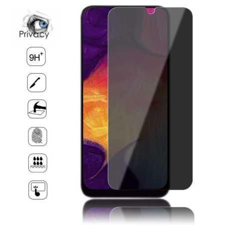 Verre trempé / Vitre de protection privée anti espion pour Samsung Galaxy A20e