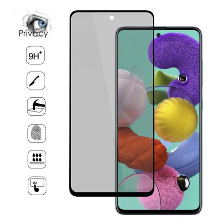 Verre trempé / Vitre de protection privée anti espion pour Samsung Galaxy Note 10 Lite