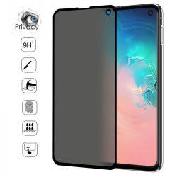 Verre trempé / Vitre de protection privée anti espion pour Samsung Galaxy S10