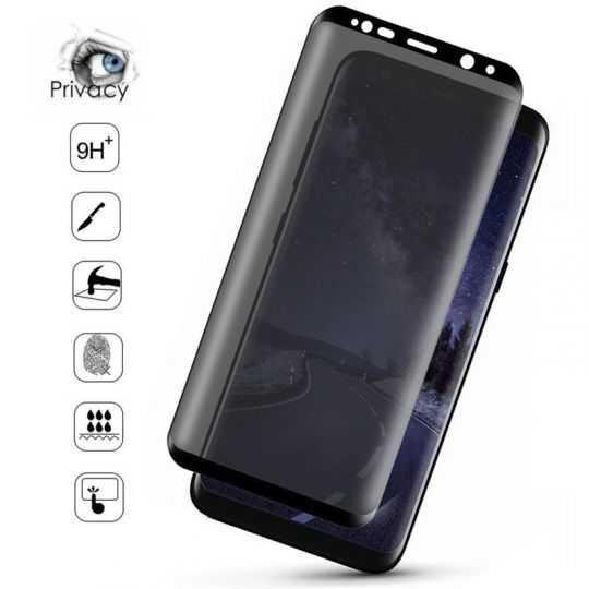 Verre trempé / Vitre de protection privée anti espion pour Samsung Galaxy S20