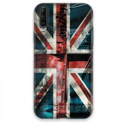 Coque pour Wiko View 4 Angleterre UK Jean's