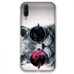 Coque pour Wiko View 4 Chat Fashion