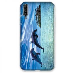 Coque pour Wiko View 4 Dauphin ile