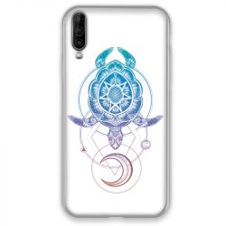 Coque pour Wiko View 4 Animaux Maori tortue color
