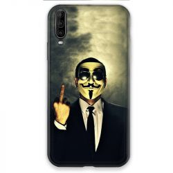 Coque pour Wiko View 4 Anonymous doigt