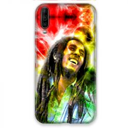 Coque pour Wiko View 4 Bob Marley Color
