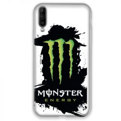 Coque pour Wiko View 4 Monster Energy tache