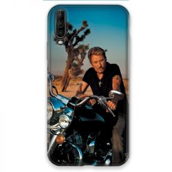 Coque pour Wiko View 4 Johnny Hallyday Moto