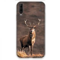 Coque pour Wiko View 4 chasse chevreuil Blanc