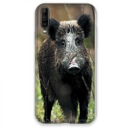 Coque pour Wiko View 4 chasse sanglier bois