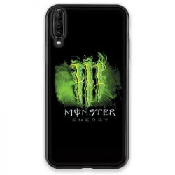 Coque pour Wiko View 4 Monster Energy Vert