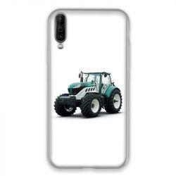 Coque pour Wiko View 4 Lite Agriculture Tracteur Blanc