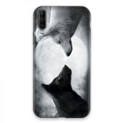 Coque pour Wiko View 4 Lite Loup Duo