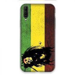 Coque pour Wiko View 4 Lite Bob Marley Drapeau